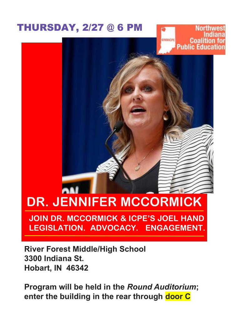 Dr. McCormick to Present at River Forest