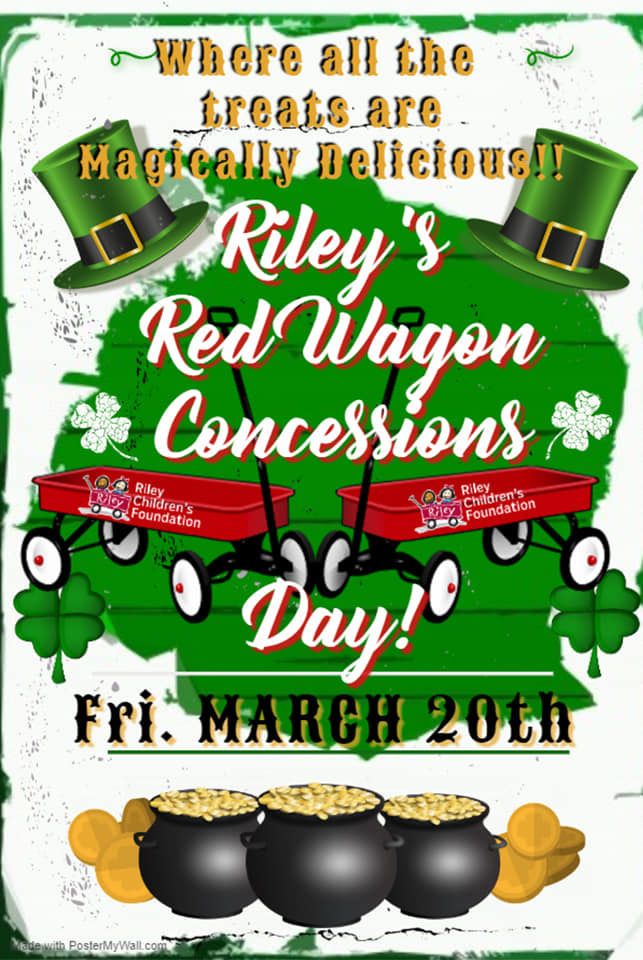 Riley's Red Wagon Concessions. Flyer by Ms. Christine Barnes